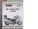 Thumbnail BMW K 1200 LT 1999 Service Repair Manual Download