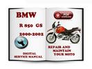 Thumbnail BMW R 850 GS 2000-2002 Service Repair Manual Download