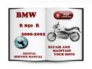 Thumbnail BMW R 850 R 2000-2002 Service Repair Manual Download