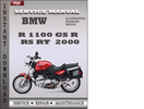 Thumbnail BMW R 1100 RS 2000 Service Repair Manual Download