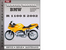 Thumbnail BMW R 1100 S 2002 Service Repair Manual Download