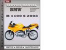 Thumbnail BMW R 1100 S 2003 Service Repair Manual Download