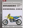 Husaberg 2004 General Service Repair Manual Download