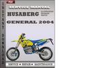 Thumbnail Husaberg 2004 General Service Repair Manual Download