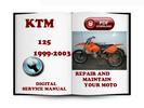 Thumbnail KTM 125 1999-2003 Service Repair Manual Download