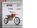 Thumbnail KTM 125 2001 Service Repair Manual Download