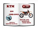 Thumbnail KTM 200 1999-2003 Service Repair Manual Download