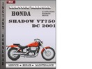 Thumbnail Honda Shadow VT750 DC 2001 Service Repair Manual Download