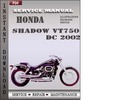 Thumbnail Honda Shadow VT750 DC 2002 Service Repair Manual Download
