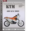 Thumbnail KTM 400 LC4 2003 Service Repair Manual Download