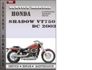 Thumbnail Honda Shadow VT750 DC 2003 Service Repair Manual Download