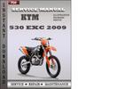 Thumbnail KTM 530 EXC 2009 Service Repair Manual Download