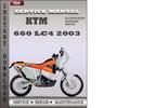 Thumbnail KTM 660 LC4 2003 Service Repair Manual Download