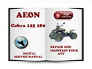 Thumbnail Aeon Cobra 125 180 Service Repair Manual Download