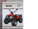 Thumbnail Aeon Overland 125 180 Service Repair Manual Download
