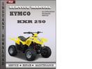 Thumbnail Kymco KXR 250 Service Repair Manual Download