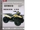 Thumbnail Kymco Mxer 150 Service Repair Manual Download