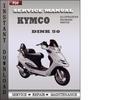 Thumbnail Kymco Dink 50 Service Repair Manual Download