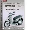 Thumbnail Kymco People 125 Service Repair Manual Download