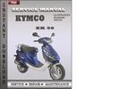 Thumbnail Kymco ZX 50 Service Repair Manual Download