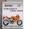 Thumbnail Honda VTR1000 F 1998-2003 Service Repair Manual Download