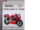 Thumbnail Honda VTR1000 F 1998 Service Repair Manual Download