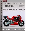 Thumbnail Honda VTR1000 F 2002 Service Repair Manual Download