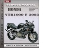 Thumbnail Honda VTR1000 F 2003 Service Repair Manual Download