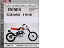 Thumbnail Honda XR80R 1999 Service Repair Manual Download