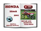 Thumbnail Honda XR80R 2001 Service Repair Manual Download