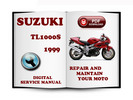 Thumbnail Suzuki TL1000S 1999 Service Repair Manual Download
