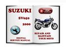 Thumbnail Suzuki SV650 2000 Service Repair Manual Download
