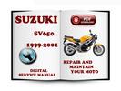Thumbnail Suzuki SV650 1999-2001 Service Repair Manual Download