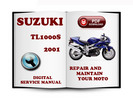 Thumbnail Suzuki TL1000S 2001 Service Repair Manual Download