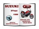 Thumbnail Suzuki SV650 1999 Service Repair Manual Download