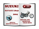 Thumbnail Suzuki Savage LS650 2004 Service Repair Manual Download