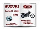 Thumbnail Suzuki Savage LS650 2003 Service Repair Manual Download