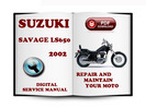 Thumbnail Suzuki Savage LS650 2002 Service Repair Manual Download