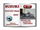 Thumbnail Suzuki Savage LS650 2001 Service Repair Manual Download