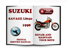 Thumbnail Suzuki Savage LS650 1998 Service Repair Manual Download