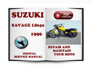 Thumbnail Suzuki Savage LS650 1996 Service Repair Manual Download