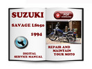 Thumbnail Suzuki Savage LS650 1994 Service Repair Manual Download