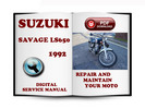 Thumbnail Suzuki Savage LS650 1992 Service Repair Manual Download
