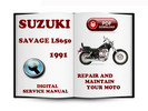Thumbnail Suzuki Savage LS650 1991 Service Repair Manual Download