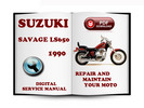 Thumbnail Suzuki Savage LS650 1990 Service Repair Manual Download