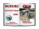 Thumbnail Suzuki Savage LS650 1989 Service Repair Manual Download