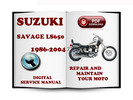 Thumbnail Suzuki Savage LS650 1986-2004 Service Repair Manual Download