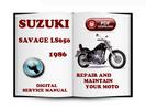Thumbnail Suzuki Savage LS650 1986 Service Repair Manual Download