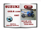 Thumbnail Suzuki GSX-R1100 1997 Service Repair Manual Download