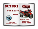 Thumbnail Suzuki GSX-R1100 1998 Service Repair Manual Download